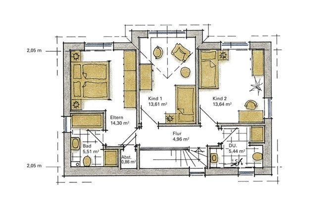 haus 6 meter breit neubau 5 meter haus stufe4 architektur bauen auf schmalem grundst ck wohnen. Black Bedroom Furniture Sets. Home Design Ideas